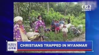 2.000 de crestini Kachini blocati in jungla