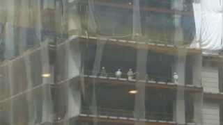 Jrゲートタワー 建設中
