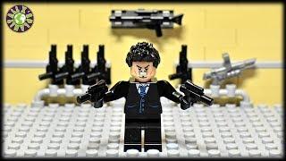 Lego Tony Stark Secret Agent. Operation Hostage.
