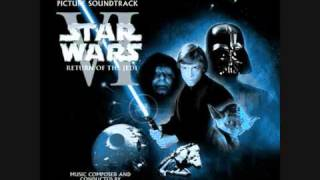 Star Wars Return of the Jedi soundtrack Main Title/Approaching The Death Star/Tatooine Rendezvous
