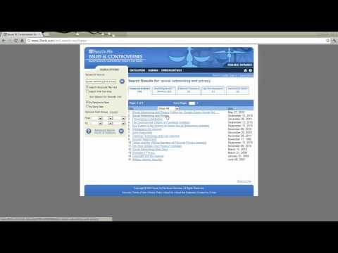 UD Libraries: Issues and Controversies Tutorial