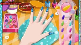 Бесплатные игры онлайн  Bridal Manicure Games  Маникюр игра для девочек, салон красоты