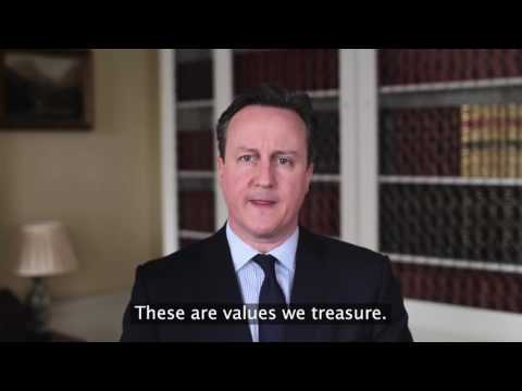 "David Cameron: ""we are a Christian country"""