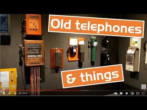 A Look Inside Melbourne's Telstra Museum