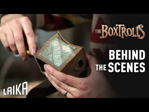 LAIKA | The Boxtrolls | Inside the Box