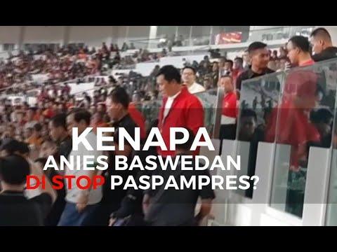 Kenapa Anies Baswedan di Stop Paspampres?
