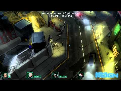 Satellite Reign's first gameplay video shows a gun battle in a real-time world