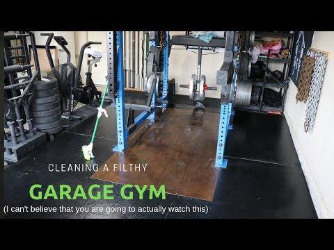 Garage Gym Cleaning Routine