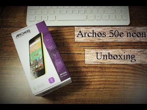 Archos 50e Neon im Unboxing - Deutsch