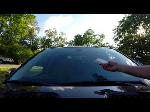 How To Ultra Clean A Car Windshield Easily With Household Items