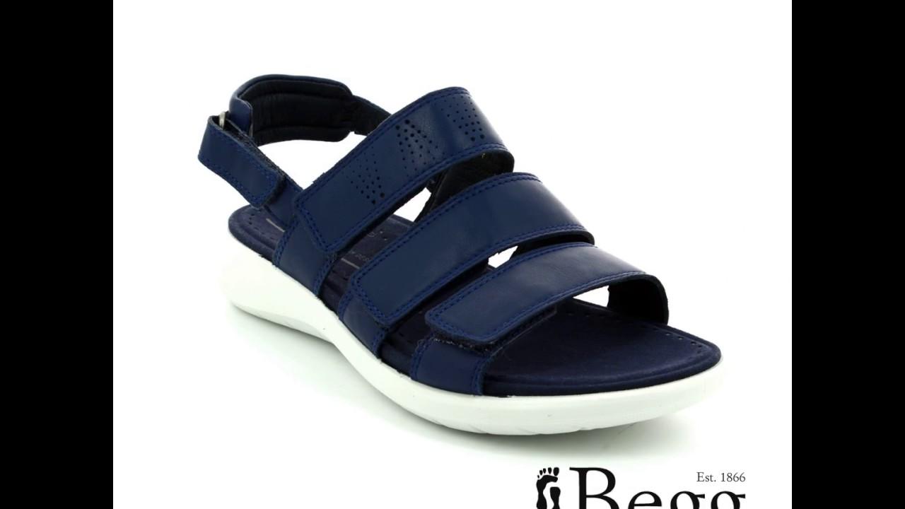 ECCO Soft 5 Sandal 218523 01048 Navy sandals