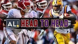 Head To Head: Alabama vs. LSU 2016 prediction