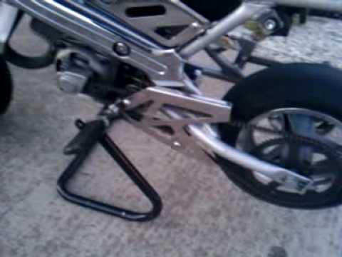 big bore pocket bike 49cc youtube. Black Bedroom Furniture Sets. Home Design Ideas