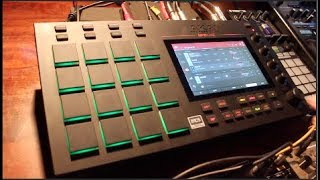 I'm just a bit obsessed with the Akai MPC Live