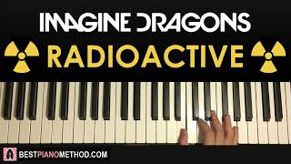 Baixar HOW TO PLAY - Imagine Dragons - Radioactive (Piano Tutorial Lesson)