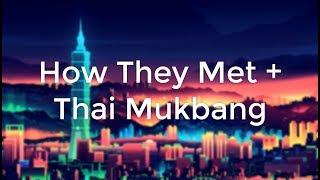 James Miju's Instagram Live   How They Met + Thai Mukbang