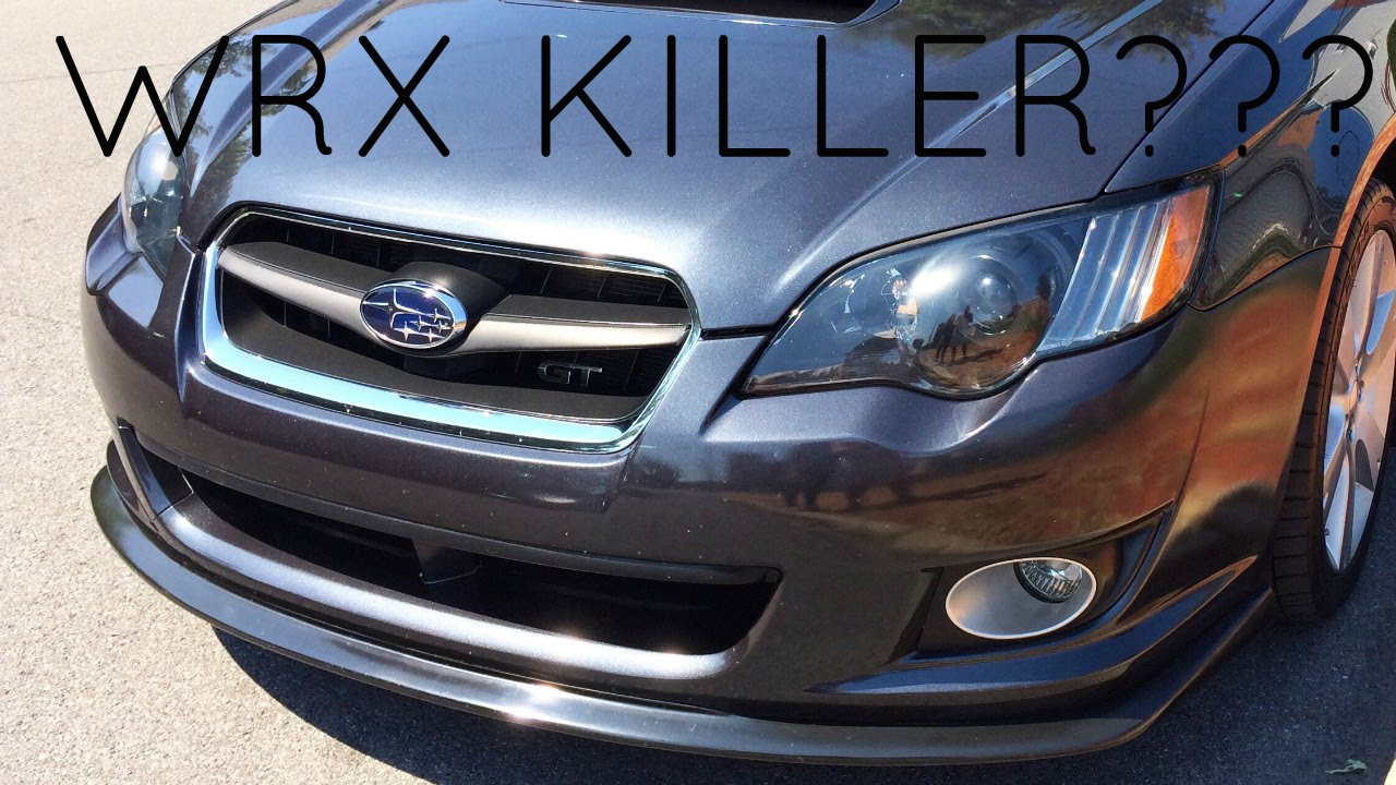 2008 Subaru Legacy Gt Review Wrx Killer Youtube