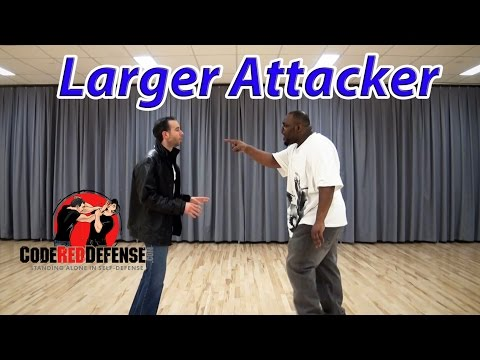 Defeat a Larger Attacker - Code Red Defense