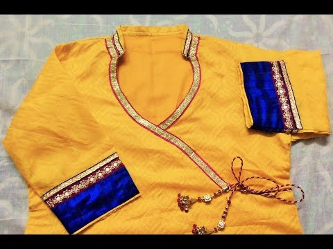 Designer neckline half collar for party wear( DIY)