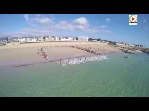 Triathlon Femmes 2015 natation - TV Quiberon 24/ 7de YouTube · Durée:  1 minutes 45 secondes