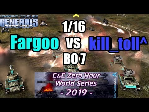 World Series 2019 [Generals Zero Hour] Fargoo Vs Kill_toll^ 1/16