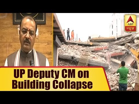 Greater Noida Building Collapse: UP Deputy CM Keshav Prasad Maurya assures accused will no