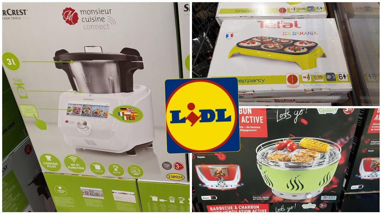arrivage lidl 4 juin 2020 monsieur cuisine connect robot