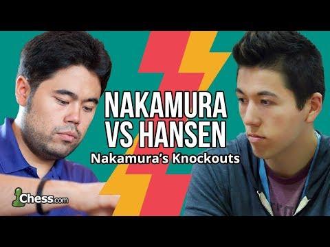 Nakamura Vs Hansen: Stealing Blitz Chess Rating Points