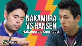 Nakamura Vs Hansen: Stealing Blitz Chess Rating Points