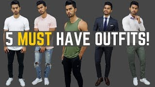 5 Outfits Every Guy Should Own
