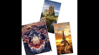 Gambar cover Teaser Video Europe Trip PARIS BARCELONA ROME