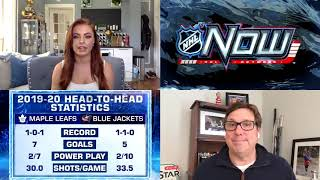 NHL Now: Previewing Blue Jackets vs. Maple Leafs (May 27, 2020)