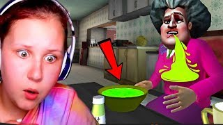CEREAL PRANK ON SCARY TEACHER 3D!! ** NEW UPDATE w/ Granny Bear Traps **
