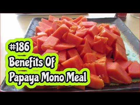 VLOG 186**Benefits Of Eating Papaya Mono Meal** orJANics 50nRaw