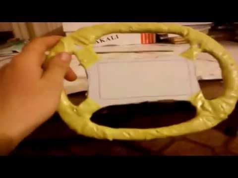 видео: Как сделать игровой руль для телефона своими руками