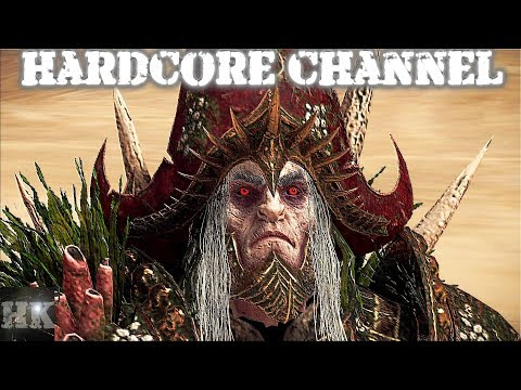 Total War Warhammer 2 - прохождение Hardcore Curse Of The Vampire Coast =1= Флот ужаса