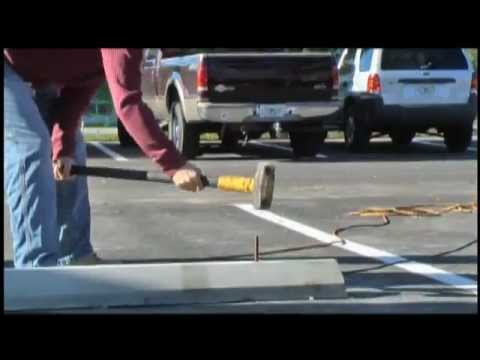 Concrete Parking Bumpers Youtube