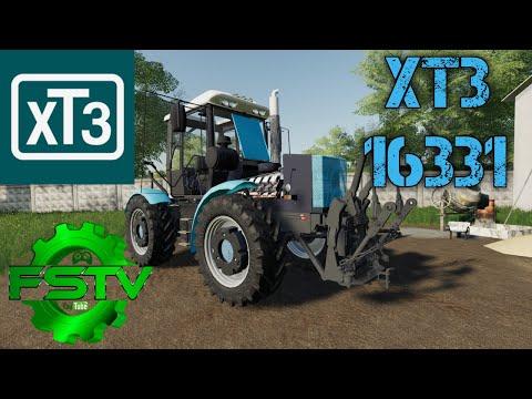 Трактор ХТЗ 16331. Мод для FS-19 / FS-TV GAMING