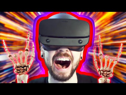 The BEST VR Game Out Right Now | Boneworks