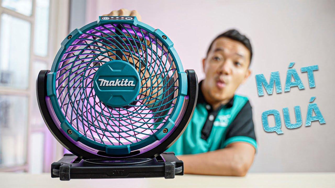 Giải Nhiệt Mùa Nóng Với Makita CF100 | Quạt Cá Nhân Chất Lượng Cho Anh Em Đi Công Trình, Giá Dễ Chịu