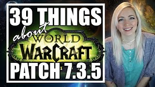 39 Things About Patch 735  Allied Races Seething Shore BG Leveling Revamp  TradeChat