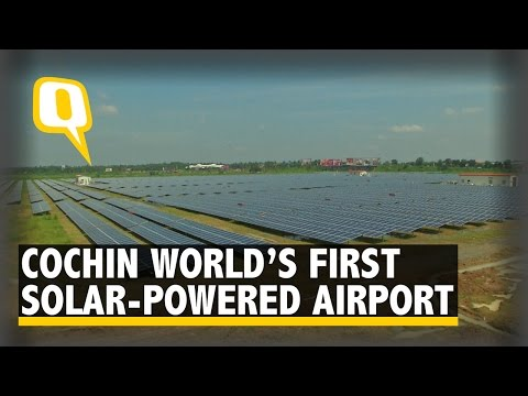 Indian City of Cochin Powers Entire Airport Through Solar Power