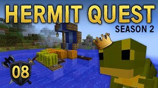 hermit quest 08 taking on the frog king 🐸 hermit wars season 2