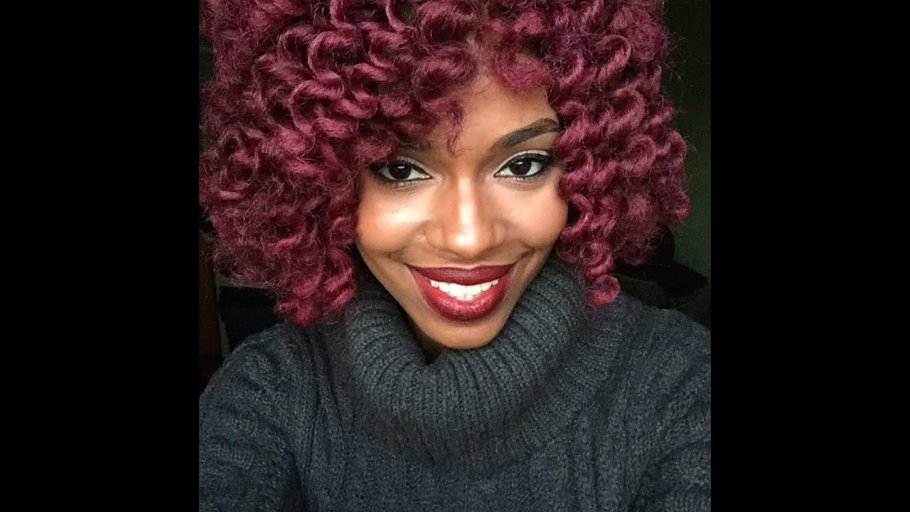 Crochet Braids Tutorial (How To: Using Marley Hair) - YouTube