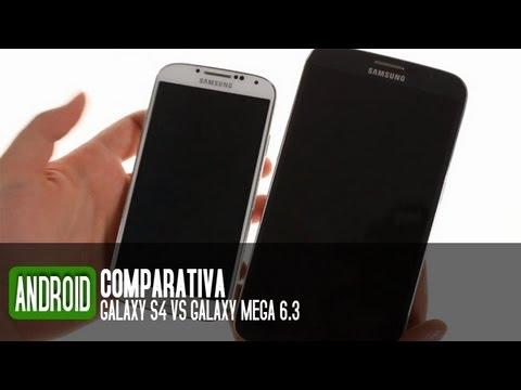 Comparativa Samsung Galaxy S4 vs Galaxy Mega 6.3