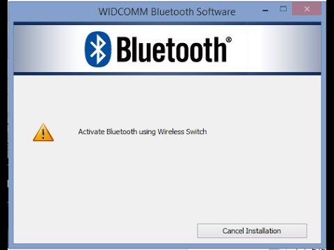 WIDCOMM GRATUIT SOFTWARE TÉLÉCHARGER BLUETOOTH
