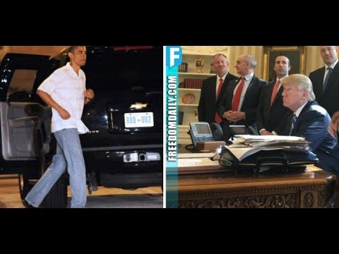 OBAMA CAUGHT STEALING KEY ITEM FROM TRUMP'S WHITE HOUSE AND NOW IS GOING TO PAY 6 TIMES OVER FOR IT!