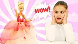 Новое платье и прическа для Барби. Приключения Барби - Мультики для девочек