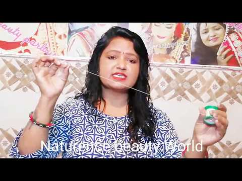 घर बेठे सीखे आइब्रो बनाना ( Hindi )