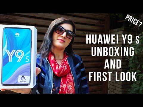 Huawei Y9s Unboxing In Pakistan | Full View Display